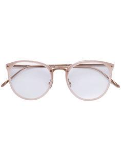 очки овальной формы Linda Farrow