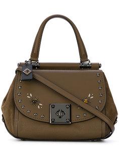 сумка с отделкой заклепками Coach