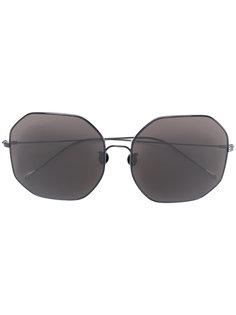 ультратонкие солнцезащитные очки-авиаторы Ann Demeulemeester