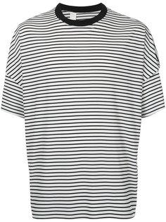 полосатая футболка свободного кроя N. Hoolywood