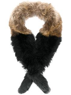 шарф из  меха енота Twin-Set