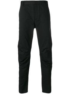 брюки с манжетами на молнии Lanvin