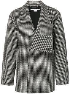 свободная куртка в ломаную клетку Stella McCartney
