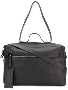 дорожная сумка с багажной биркой Marsèll