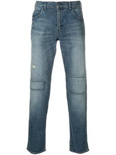 джинсы кроя слим с заплатками N. Hoolywood