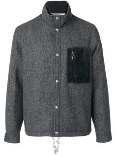 куртка с нагрудным карманом Moncler Gamme Bleu