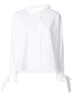 свободная рубашка с завязками на манжетах  Erika Cavallini