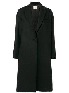 пальто с глубоким V-образным вырезом  Erika Cavallini