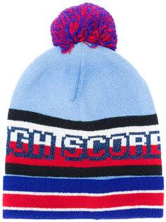 "вязаная шапка дизайна ""колор-блок"" Hilfiger Collection"