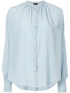 блузка с присборенным воротом  Joseph