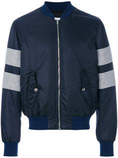 куртка в стиле колор блок MSGM