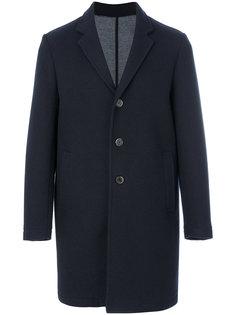 пальто с контрастными пуговицами MSGM