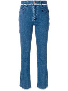 джинсы с необработанными краями See By Chloé