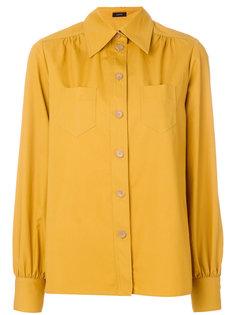 блузка с накладными карманами Joseph