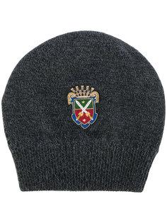 шапка-бини с нашивкой в виде герба Dolce & Gabbana