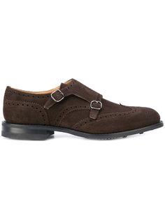 туфли с двойной пряжкой Churchs