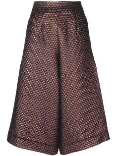расклешенные укороченные брюки Ultràchic