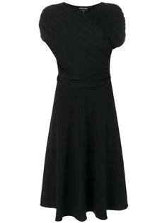 платье с оборками  Giorgio Armani