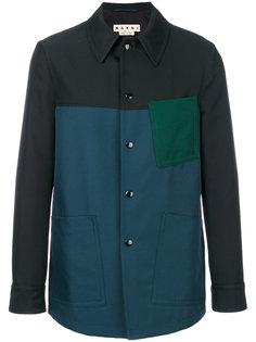 "куртка дизайна ""колор-блок"" Marni"