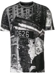 футболка с фото-принтом Dolce & Gabbana