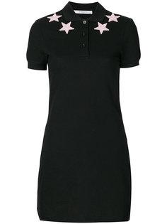 платье-поло со звездами Givenchy