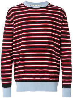 свитер в полоску Marni