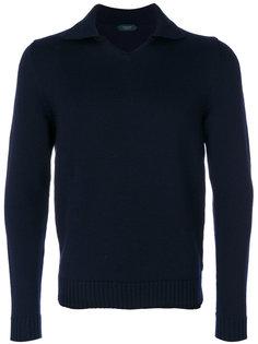 свитер-поло Zanone
