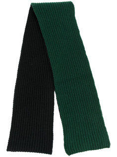 двухцветный шарф Marni