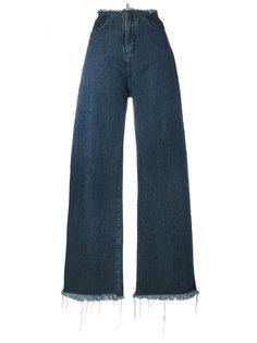 широкие джинсы клеш  Marquesalmeida