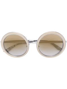 солнцезащитные очки с массивной круглой оправой Dolce & Gabbana Eyewear