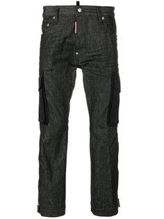 """укороченные джинсы в стиле """"карго"""" Dsquared2"""