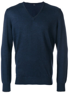 свитер с заплатками на локтях Fay