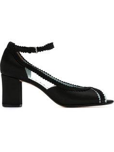 peep toe pumps Sarah Chofakian