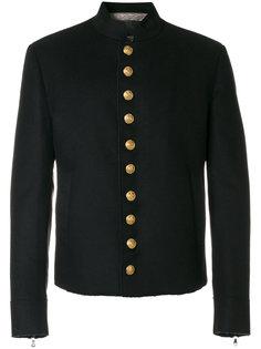 куртка в стиле милитари на пуговицах Dolce & Gabbana