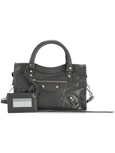 классическая маленькая сумка-тоут City Balenciaga