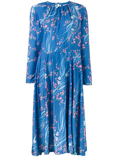 платье с японским принтом Slide Balenciaga