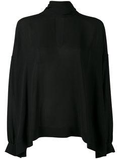 блузка с вырезом капелькой Fluid Vareuse Balenciaga