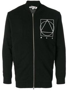куртка в стиле кэжуал с принтом с графическим знаком McQ Alexander McQueen