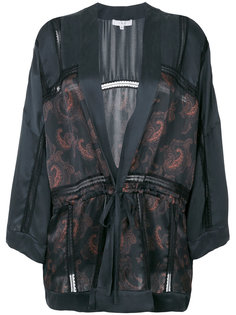 пиджак-кимоно с принтом пейсли  Iro
