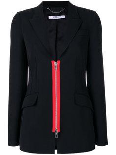 пиджак с декоративной молнией Givenchy