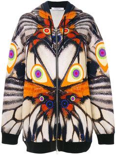 толстовка с капюшоном с изображением крыльев Givenchy