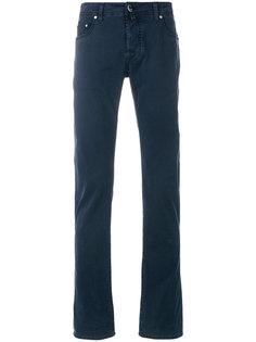 брюки-чинос классического кроя Jacob Cohen