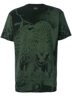 футболка с леопардовым принтом Marcelo Burlon County Of Milan