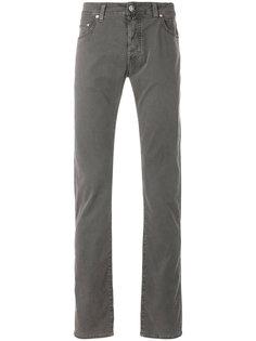 джинсы классического кроя Jacob Cohen