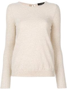 свитер с круглым вырезом Cividini