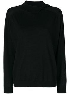 свитер со смещенным воротником Cividini