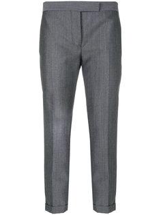 укороченные узкие брюки Thom Browne
