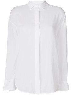 рубашка с потайной застежкой Forte Forte