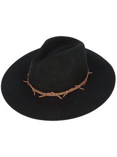 классическая широкополая шляпа Sensi Studio