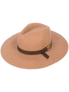 широкополая шляпа-федора Sensi Studio